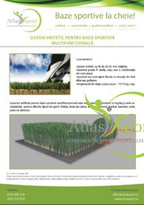 gazon sintetic multisport