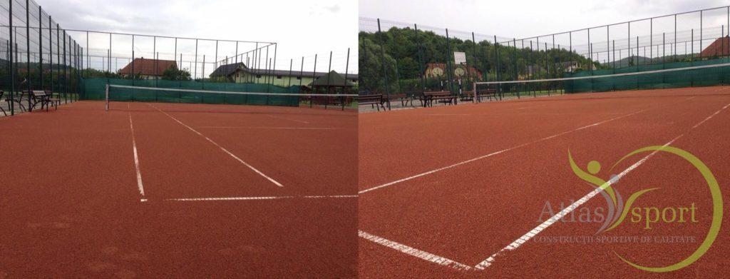 Reabilitare Pistă de Atletism și Teren de Tenis cu Zgură