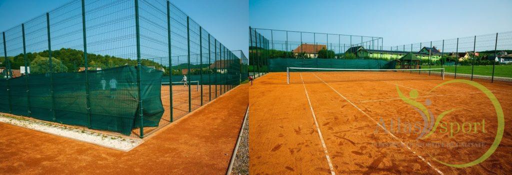 Reabilitare Teren de tenis cu zgura