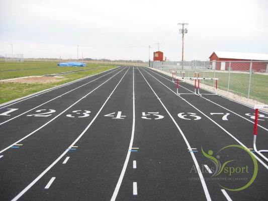 pista de atletism din asfalt