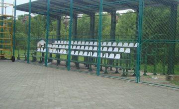 Teren de sport şi tribună