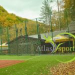 Building of an Artificial Multipurpose Field for Football, Handball, Basketball and Tennis at Domeniul Girbea, Starchiojd, Buzau County.