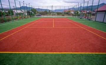 Teren de sport multifunctional in localitatea Bistrita Bargaului