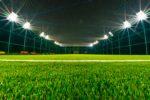 Nocturnă teren fotbal