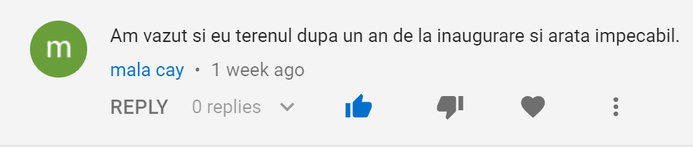 youtube comment 1