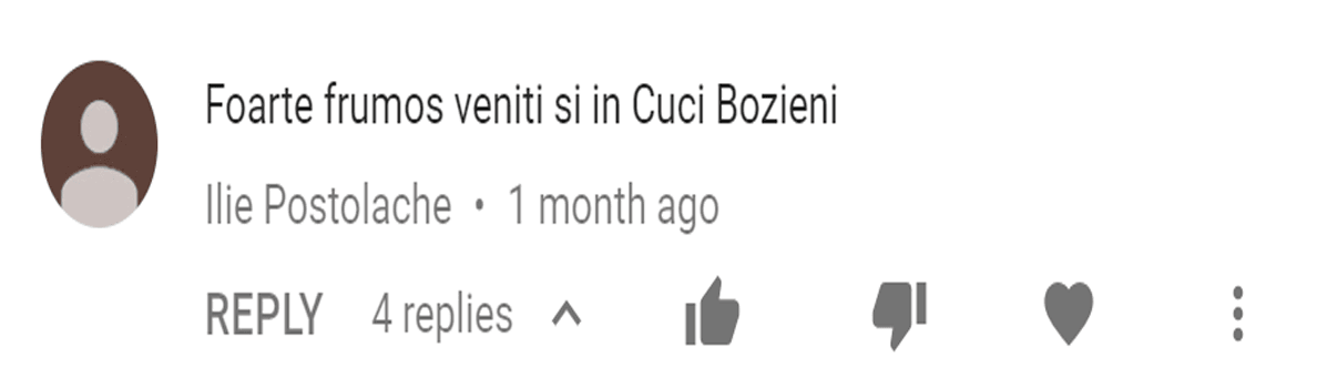 youtube comment 5