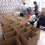 Ajutare familii nevoiase pachete craciun Atlas Sport 2018