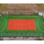 Teren multisport - vedere din dronă
